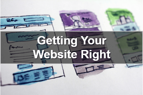 Getting Your Website Right – Webinar